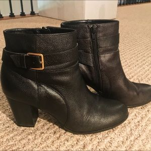 Cole Haan Signature Black Ankle Boots